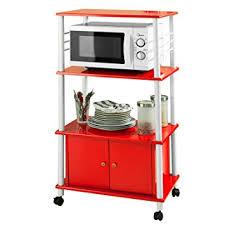 meuble de rangement cuisine sobuy frg12 r meuble rangement cuisine roulant en bois chariot de