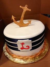 nautical themed baby shower cake baby shower diy