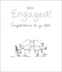 congratulate engagement uk greetings dog engagement card whsmith