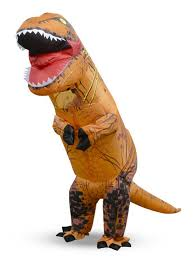Rex Halloween Costumes Jurassic Inflatable Rex Costume Cosplay Adults