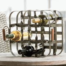 wrought iron wine storage ironaccents