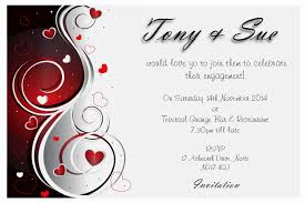 card invitation ideas engagement invitation card designs with