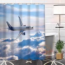Airplane Shower Curtain Online Get Cheap Custom Aircraft Aliexpress Com Alibaba Group