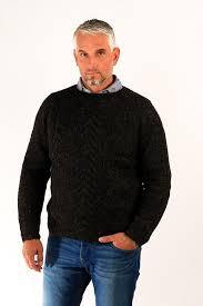 s wool sweaters gudbjartur wool sweater black álafoss since 1896