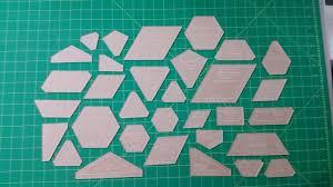 fabric cutting templates