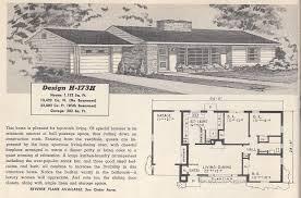 blue prints house vintage house plans 173h antique alter ego retro bun luxihome