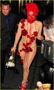 lady gaga halloween costumes lady gaga gives proper goodbye to roseland ballroom with rose
