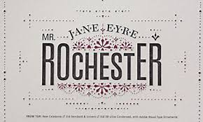 poster details and mr rochester typographic matchmaking