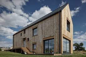 splendid modern barn design with glass glazing also hip roof