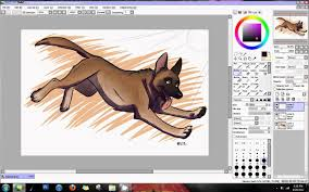 tutorial simple lighting and shading paint tool sai youtube