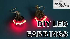 led earrings diy led earrings 7 steps with pictures