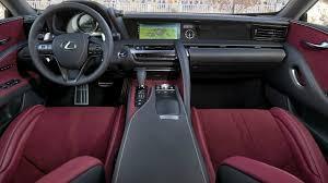 lexus alcantara interior 2018 lexus lc 500h interior youtube