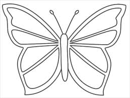 30 butterfly templates printable crafts colouring pages of stencil