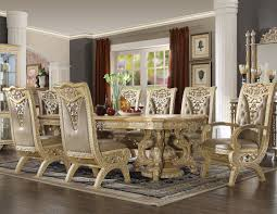 8015 ivory finish dining set homey design victorian european