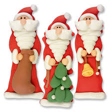 Christmas Cake Decorations Toppers by Sugar Father Christmas Cake Decorations Traditional Santa