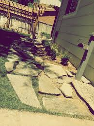 How To Lay Flagstone Patio How To Lay A Flagstone Pathway In An Existing Lawn