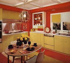 1960s Kitchen 1970s Kitchen Design One Harvest Gold Kitchen Decorated In