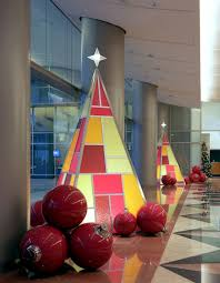 Contemporary Commercial Christmas Decorations by Improving Life U0026 Business By Enhancing Environments Plant