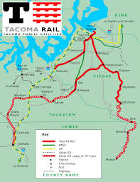 Tacoma Washington Map by Tacoma Public Utilities Economic Development