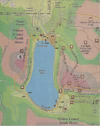 Wilderness Wisconsin Dells Map by Devils Lake State Park Adventures In Travel