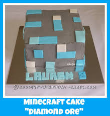diamond minecraft coolest minecraft diamond ore cake