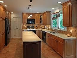galley kitchen lighting ideas ideas to make a galley kitchen lighting appear larger