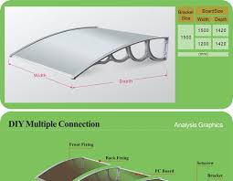 Awning Materials Silver Wing Economic Plastic Awning Materials Garden Sahde Awning