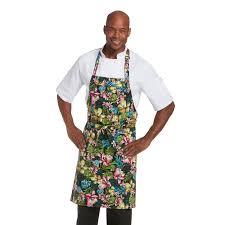 Custom Aprons For Women Classic Cotton Bib Apron 1650 Chefwear