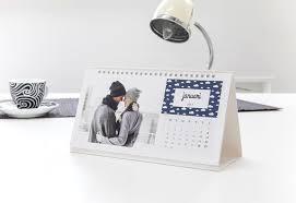 calendrier de bureau photo calendrier de bureau personnalisé avec photos smartphoto