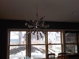 bedroom fascinating astra chandelier sputnik light fixture mid