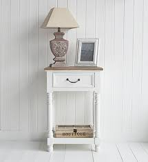 white hall table from the white lighthouse for hallway furniture