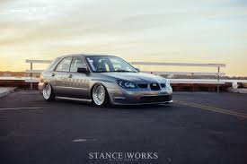 subaru rsti widebody going wider john hall u0027s widebody 2006 wrx wagon stanceworks