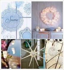 boulette papier mariage deco mariage theme hiver idees