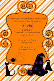 impressive free halloween party invitation templates with orange