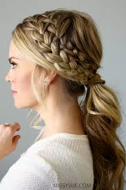 crochet braid ponytail beautiful braid ponytail hairstyles ideas styles ideas 2018