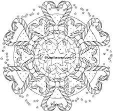 christmas mandala coloring pages printable free downloads coloring