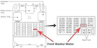 nissan patrol gu fuse box diagram wiring diagram simonand