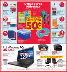 Office Depot by Office Depot Officemax Ad Scan 9 10 17 9 16 17 Preview The Ad