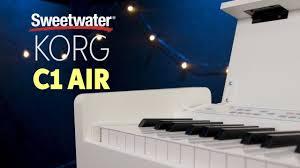 piano keyboard reviews and buying guide korg c1 air digital piano review insync