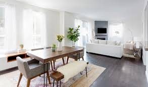 Dining Room In Living Room How To Design An Apartment You And Your Roommate Love Parachute Blog
