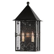 two light outdoor wall sconce faracy black with silver starlight two light outdoor wall sconce