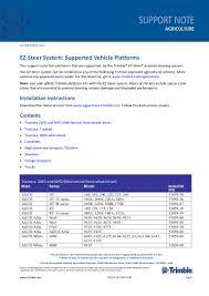 lista vehiculos soportados ezsteer