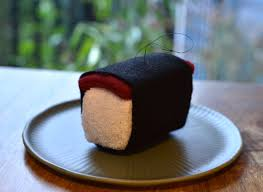 spam musubi sushi ornament