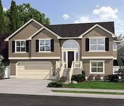 split level house plan 23442jd spacious split level home plan split entry