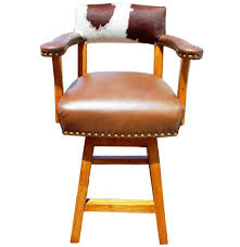 Bar Stool With Arms And Back Cowhide Bar Stools Exotic Bar Stools U0026 Chairs We Beat Free Shipping