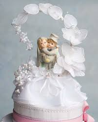 porcelain wedding cake toppers child side arch wedding cake topper wedding cake topppers
