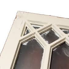 Vintage Windows For Sale by Splendid Pair Of Antique Windows Frosted Glass C 1920 Nw27 Rw