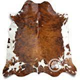 amazon com cowhide rug dark brindle medium 5x7 kitchen u0026 dining