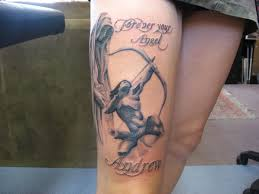 12 awesome bow and arrow tattoo that says about you