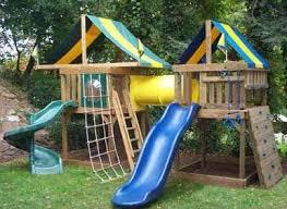 Backyard Swing Set Ideas by Best 20 Wooden Swing Set Plans Ideas On Pinterest Swing Set